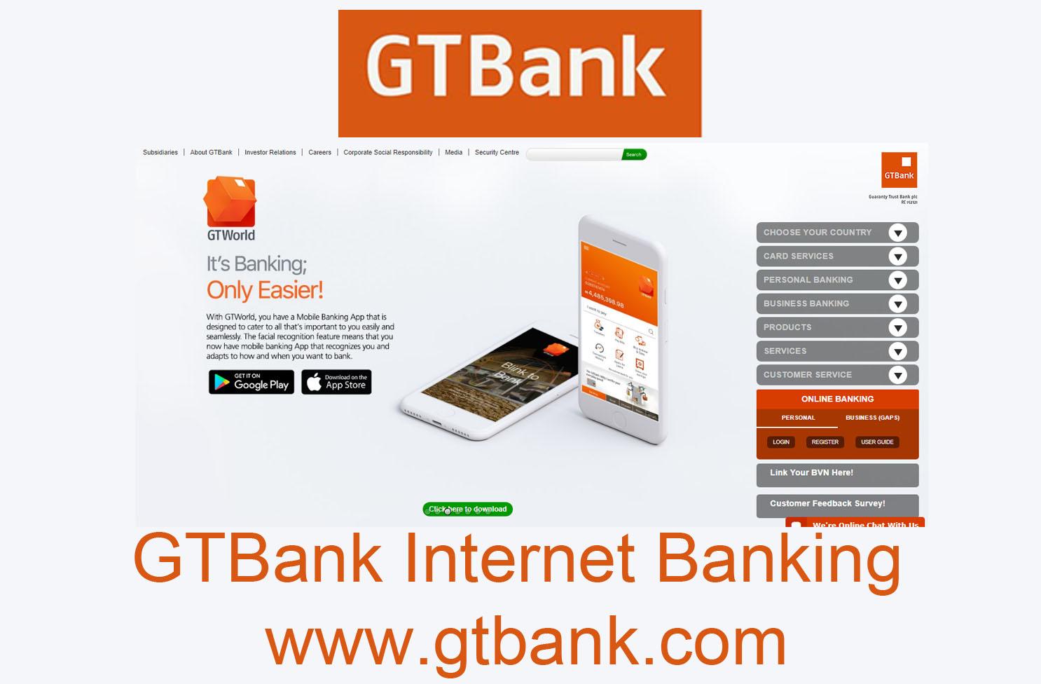 GTBank Internet Banking