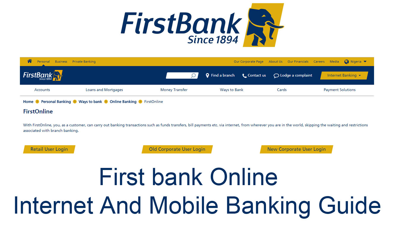 First bank Online