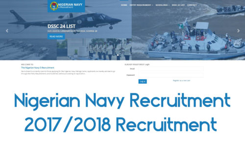 Nigerian Navy Recruitment