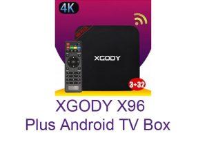 XGODY - XGODY X96 Plus Android TV Box