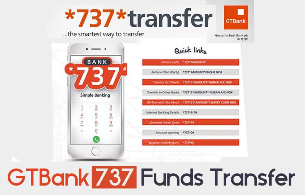 GTBank 737 Funds Transfer