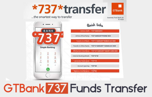 GTBank 737 Funds Transfer