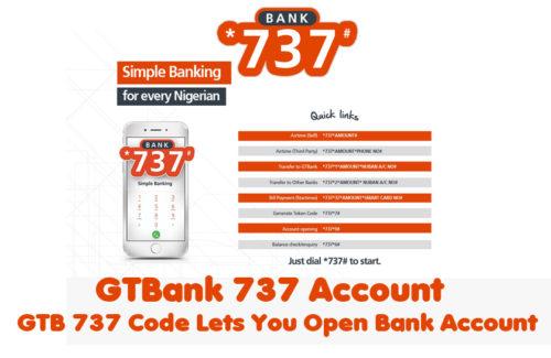 GTBank 737 Account