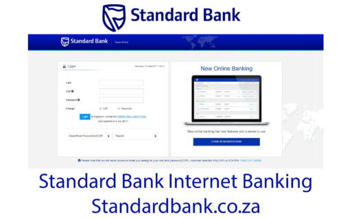 Standard Bank Internet Banking