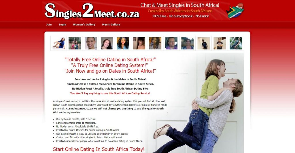 free internet dating site in south africa