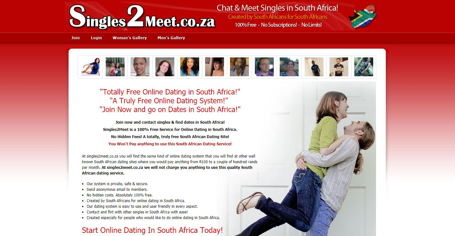 Free online dating site south africa
