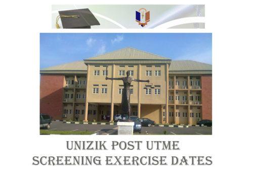 UNIZIK Post UTME