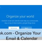 Outlook.com – Organize Your World | Email & Calendar