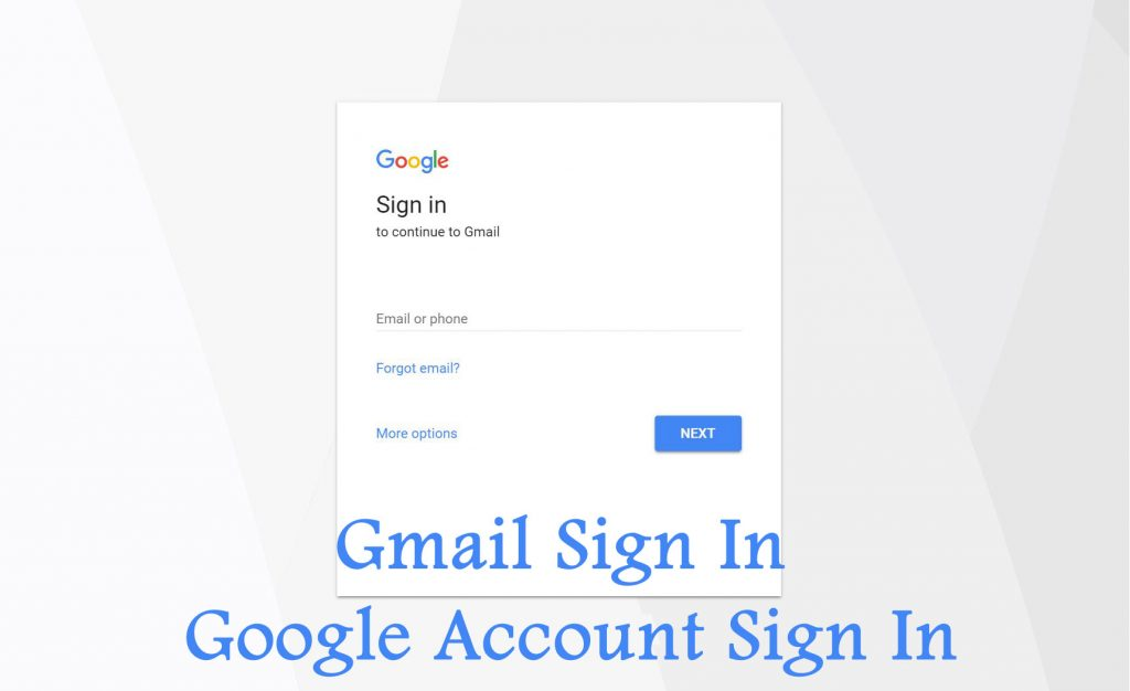 Gmail Sign In - Simple Process to Google Account Sign in | Gmail Log in