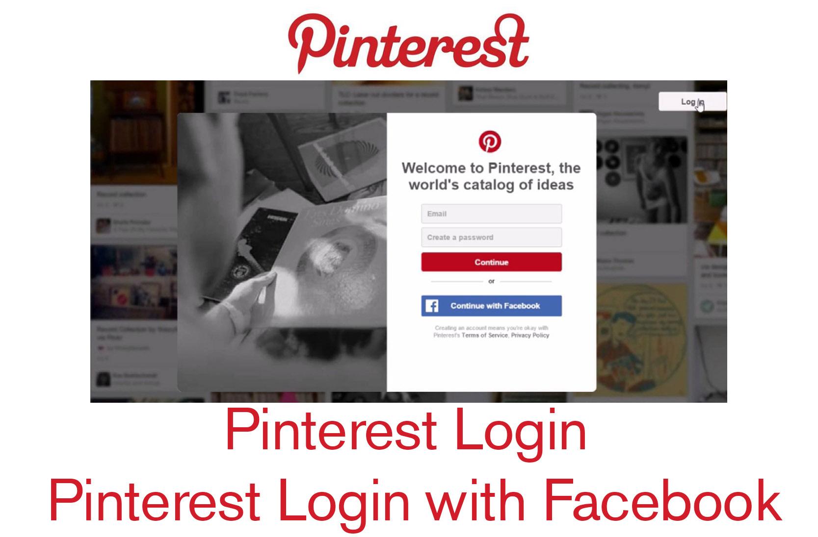 Pinterest Login - Pinterest Login with Facebook