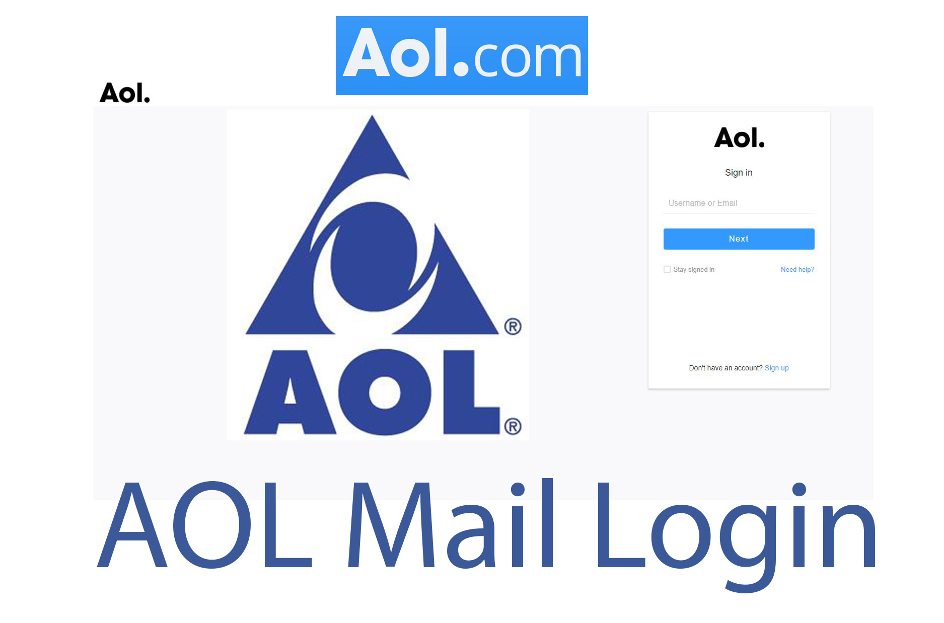 AOL Login - AOL Mail Login