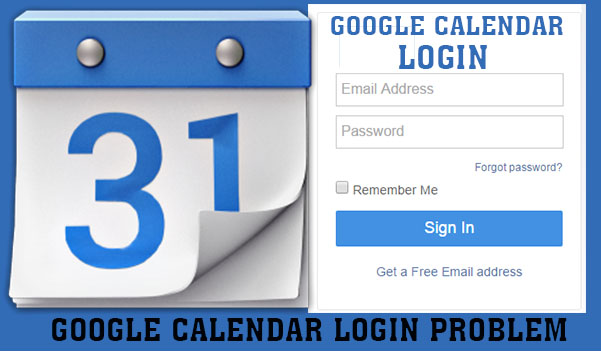 Google Calendar Login - Google Calendar Login Problem