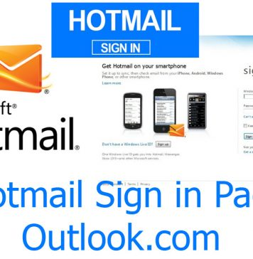 Hotmail Sign in Page - Outlook