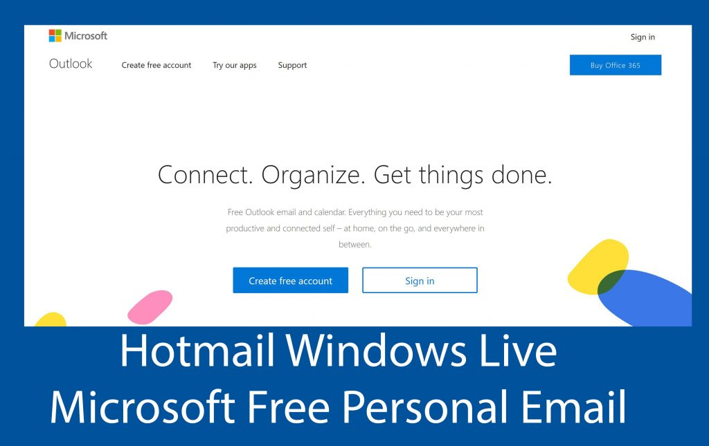 Hotmail Windows Live - Microsoft Free Personal Email