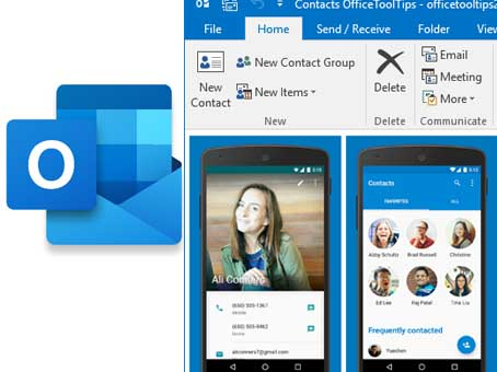 How to Add Contacts to Outlook - How do I Import Contacts Into Outlook | Microsoft Outlook 365