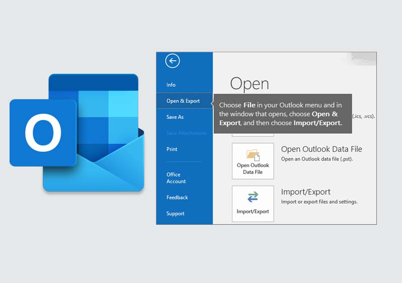 How to Export Emails from Outlook - How do I Export Outlook Contacts