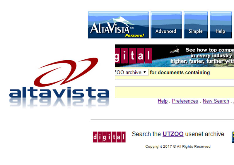 AltaVista Search - Search on the AltaVista Web Search Engine