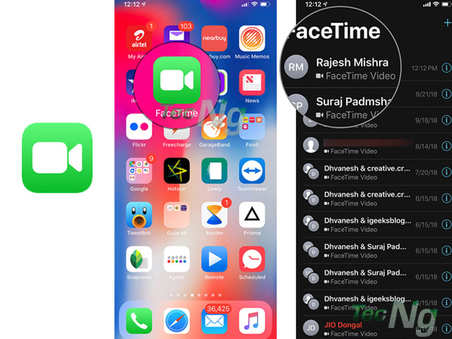 FaceTime App for iPhone - How to Use Facetime on iPhone | Facetime App