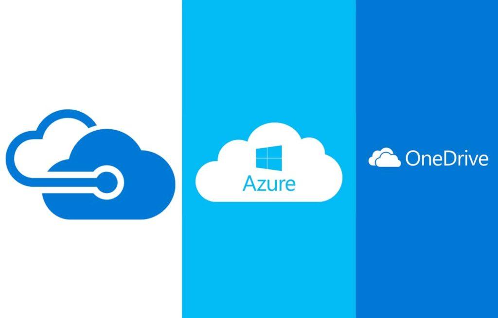 Microsoft Cloud - Microsoft OneDrive   Microsoft Azure Cloud