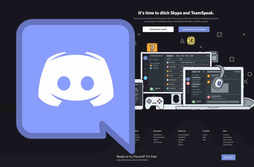 Discord Web App - Sign up for Discord Account