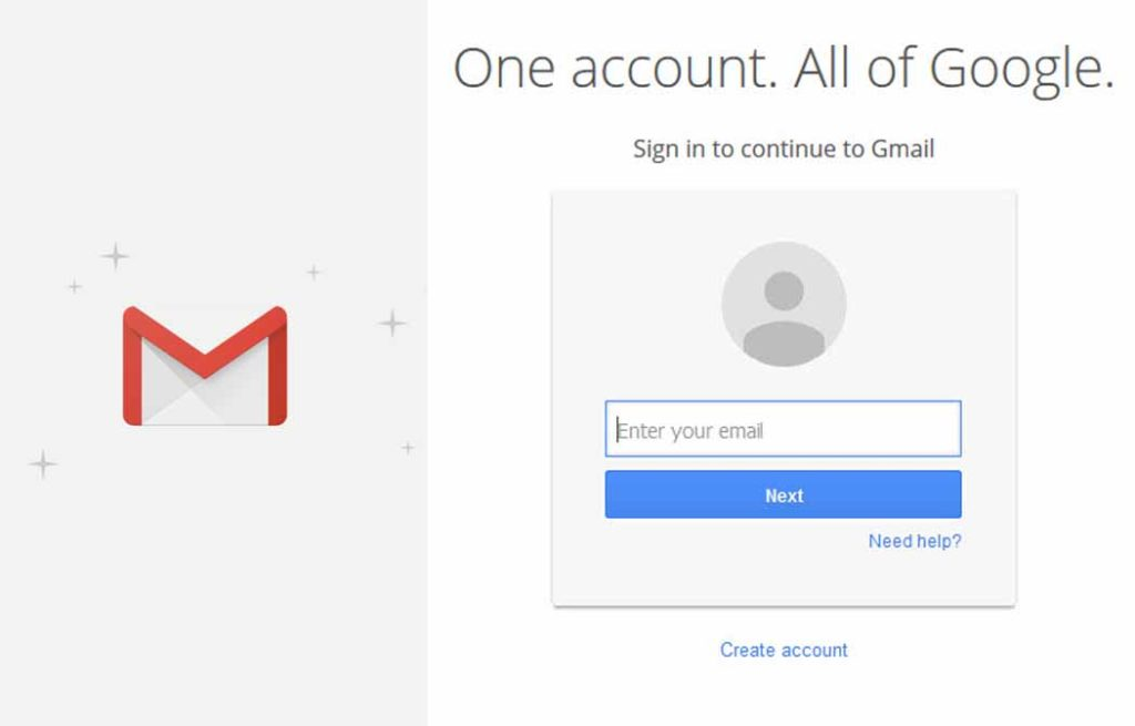 Gmail Sign In Inbox - Gmail Sign in Accounts Gmail Login Inbox