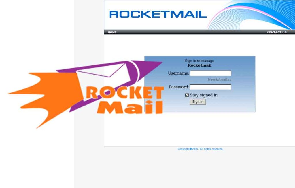 RocketMail Sign In - Rocketmail Email Account Login