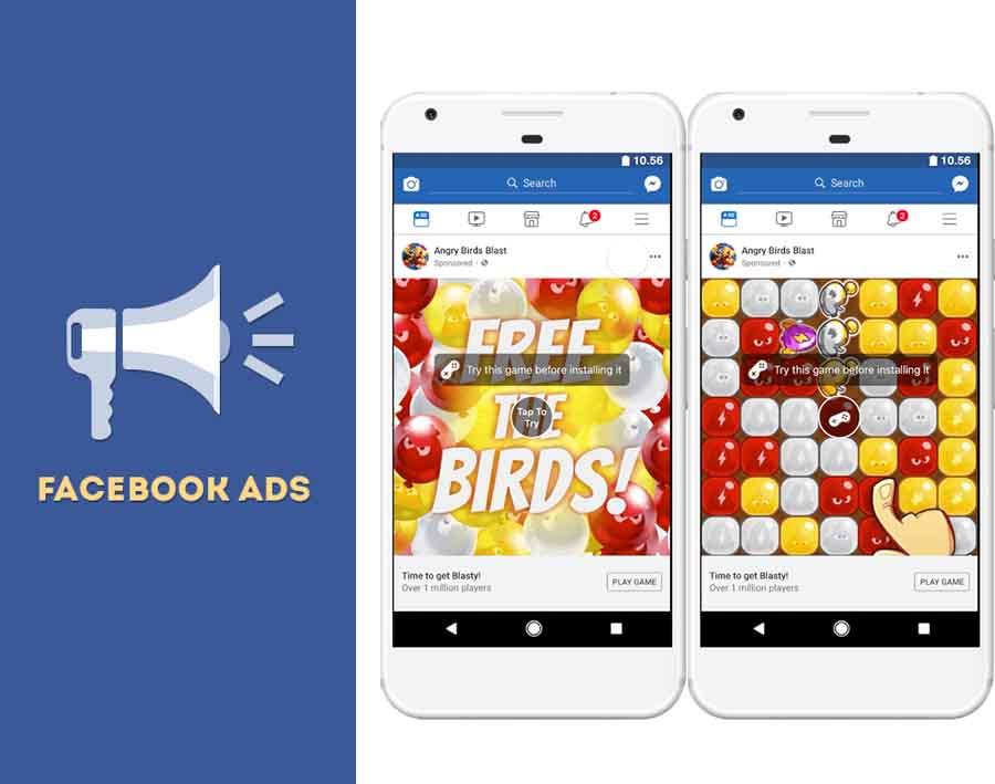 Facebook Game Ads - Facebook Game Center   Playable Ads Facebook