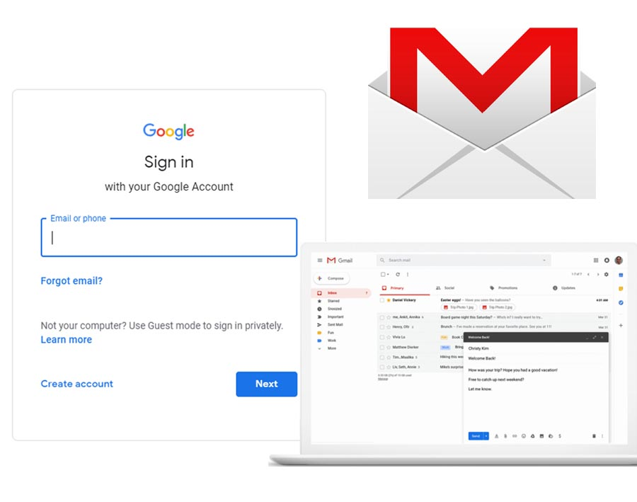 Gmail Message Login - Gmail Login Inbox Messages