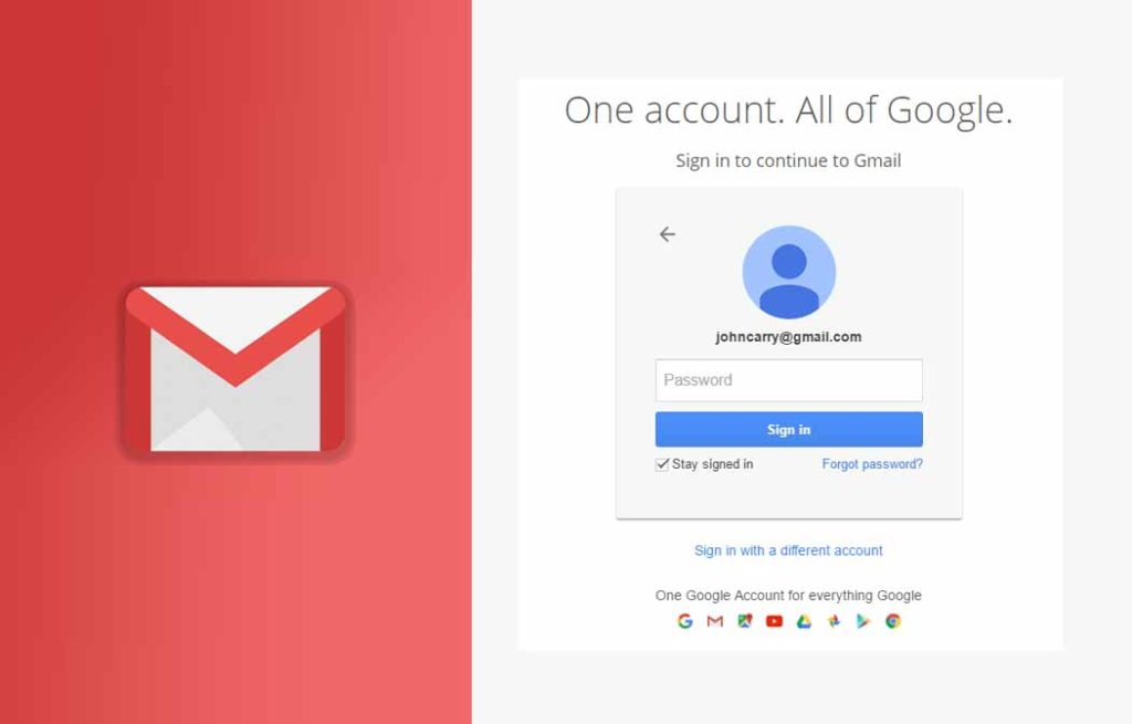 Gmail Sign In Page - Gmail Sign In Account