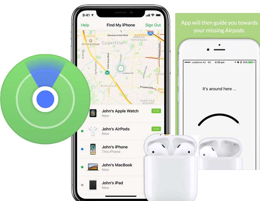 How to Find Lost AirPods - Find my AirPods | Lost AirPods