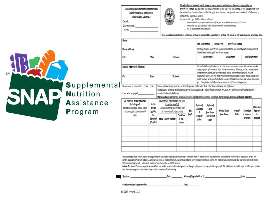 Food Stamp Application - How to Apply for Food Stamps