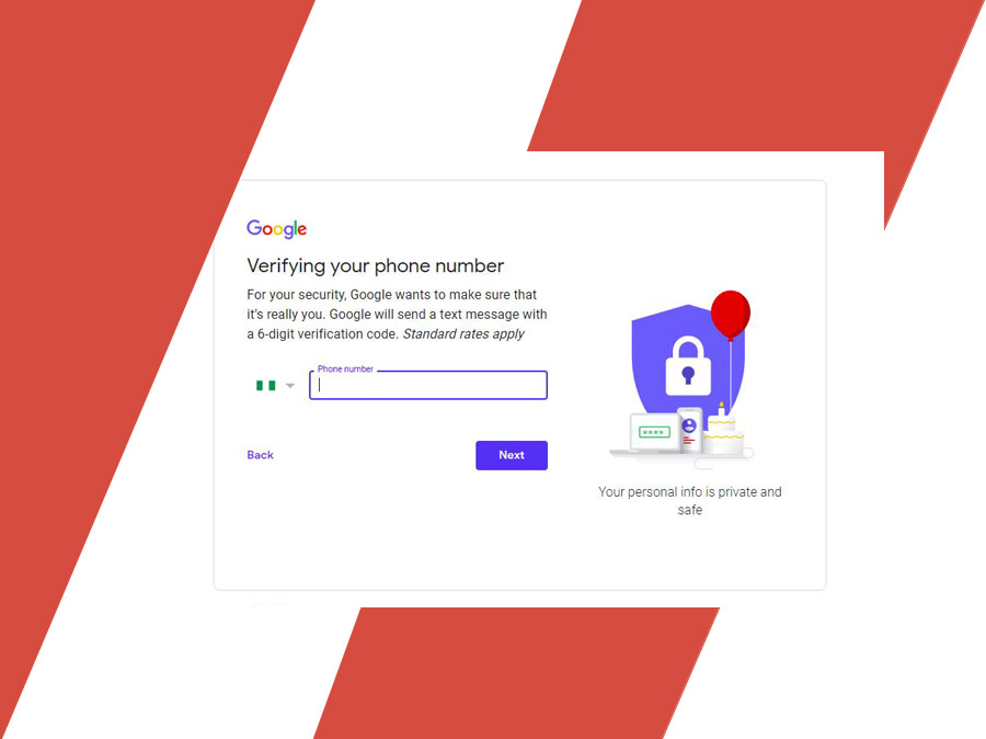 Gmail Sign Up Without Phone Number - Create your Google Account