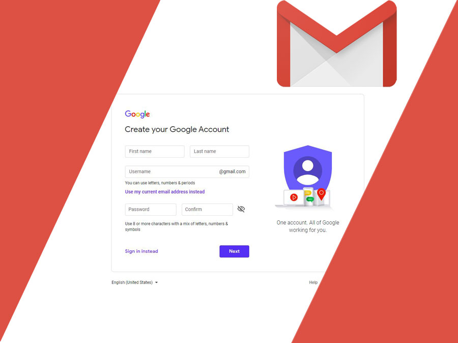 Gmail Sign Up for Email Account - Create your Google Account
