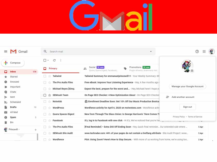 Gmail Sign in to Another Account - Sign in with a Different Account