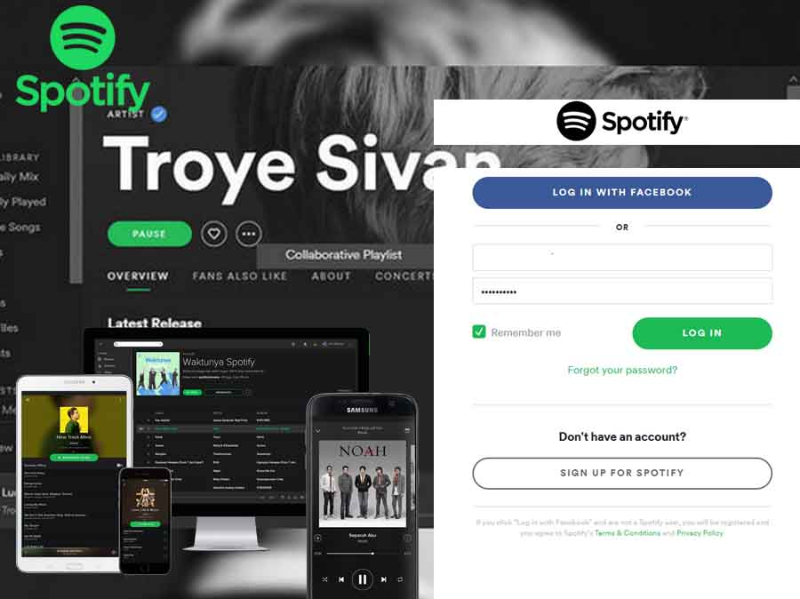 Spotify Sign Up - Sign up to Spotify