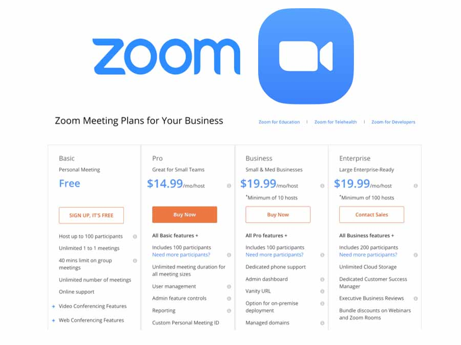 Zoom Pricing - Zoom Plans and Pricing | Zoom Meeting Online