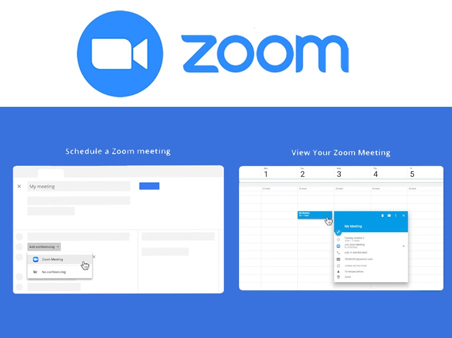 Zoom for Google Calendar - How to Add Zoom to Google Calendar | Google Calendar Add-on