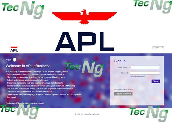 APL Login - Log in to APL Logistics   APL Tracking