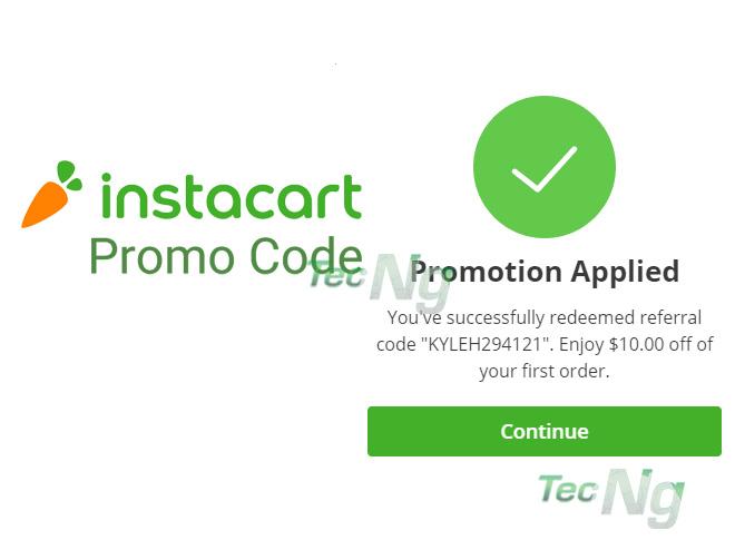 Instacart Promo Code - How to Redeem Instacart Promo Code | Instacart Coupons
