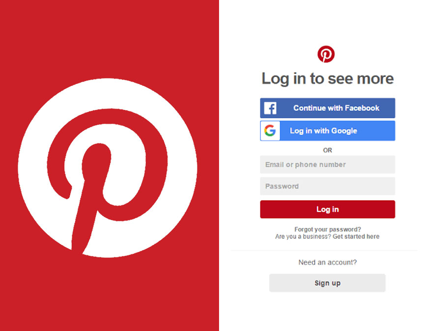 Pinterest Sign Up - Creating a Pinterest Account | Pinterest Account Login