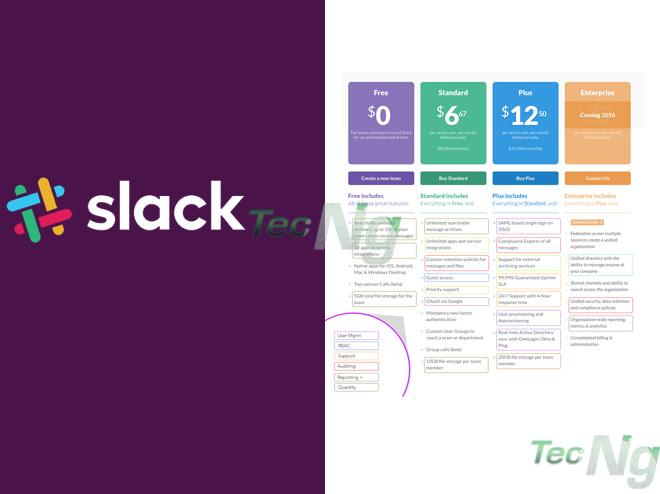 Slack Pricing - How Much does Slack Cost | Slack Pricing Plans