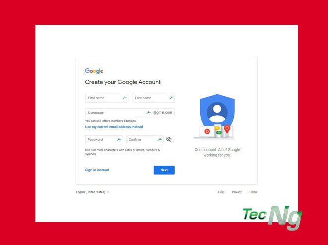 Create Gmail Account – How to Create a New Gmail Account