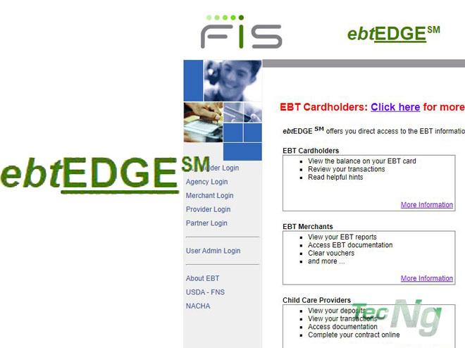 EBT EDGE Cardholder Login - How to Login to ebtEDGE Cardholder | ebtEDGE.com Cardholder