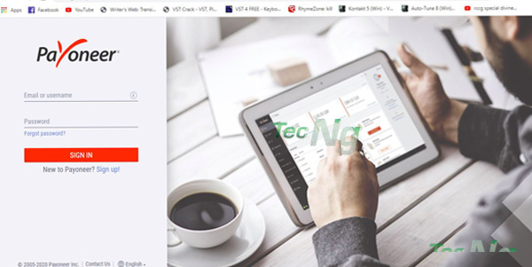 How to Sign in to Payoneer Account on the Web