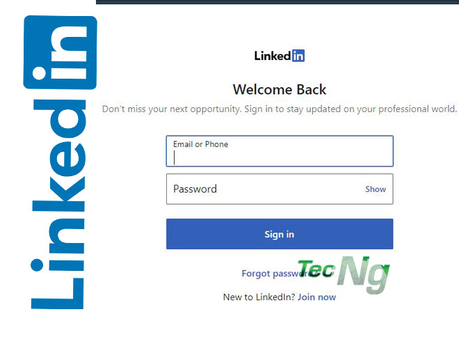 LinkedIn Sign in - How to Sign in to LinkedIn   LinkedIn Login