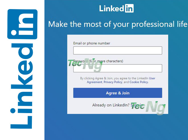 LinkedIn Sign up - How to Sign up for LinkedIn | LinkedIn Sign up New Account