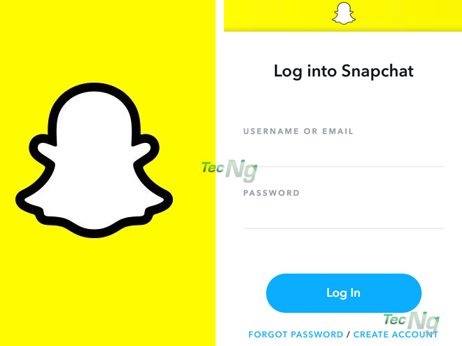 Log in Snapchat - How to Log in Snapchat   Snapchat Sign in