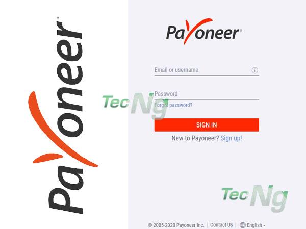 Payoneer Login - How to Login Payoneer Account | Payoneer Sign in