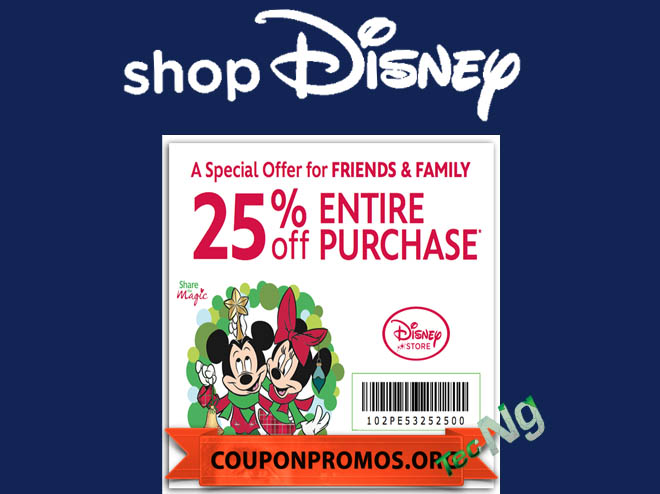 Disney Store Coupons - How to Redeem Disney Store Coupons | Get ShopDisney Promo Code