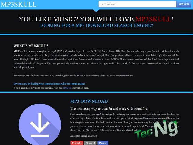MP3 Download Skull - MP3 Download Skull Free Music   MP3skulls